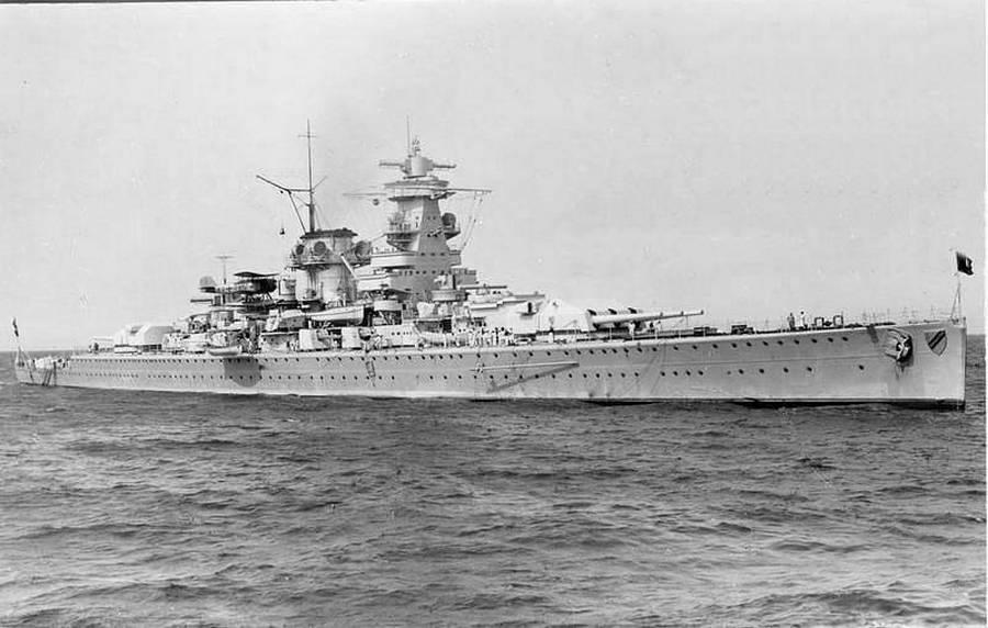 линкор адмирал Шеер